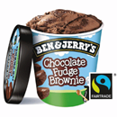 Ben & Jerrys Chocolate Fudge Brownie