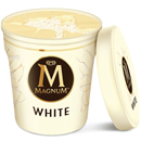 Magnum White Ice Cream Tub