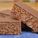 Mars Bar Crispy Slice