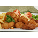 Scampi with French Fries & Salad