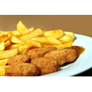 Chicken Nuggets (8 pcs) with Fries