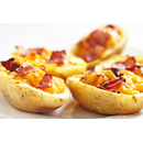 Potato Skins with Cheese & Bacon