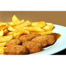 Chicken Nuggets (8 pcs) with Chips